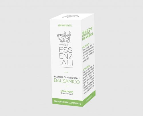 Balsamico blend di oli essenziali contro le malattie da raffreddamento