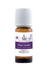 olio essenziale di timo linalolo biologico