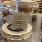 Braccialetto profumabile Orsetto colore argento per aromaterapia