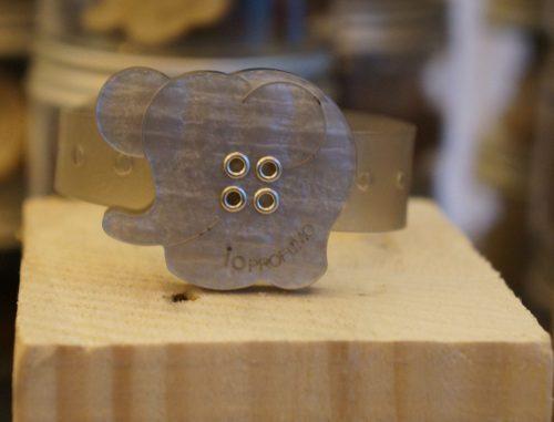 Diffusore di aromi da polso elefantino per portare con sé l'aromaterapia