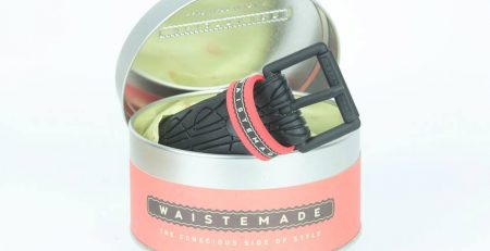 Cinture Waistemade la moda che nasce dai copertoni usati delle bicilcette