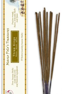 Incenso Three Kings Ecocert con cannella, Palo Santo e Benzoino