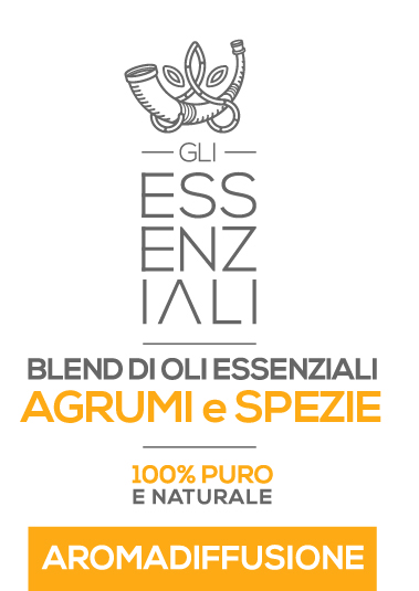 blend di oli essenziali agrumi e spezie