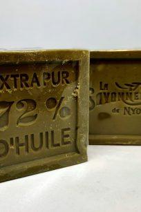 Sapone di marsiglia all'olio d'oliva, artigianale, prodotto in Provenza