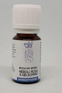Miscela naturale di neroli, rosa damascena e gelsomino